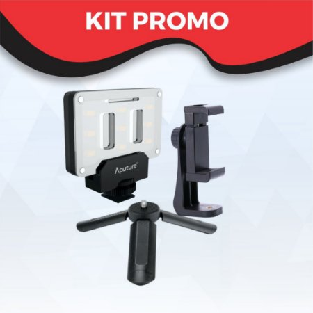 Kit Promo Suporte Escolar / You Tuber / Reporter