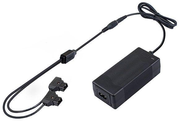 Carregador rápido portátil de duas cabeças D-tap - PC-U130B2
