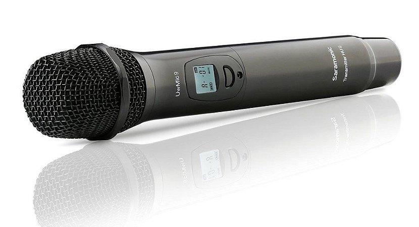 HU9 - Microfone de mão digital sem fio UHF de 96 canais