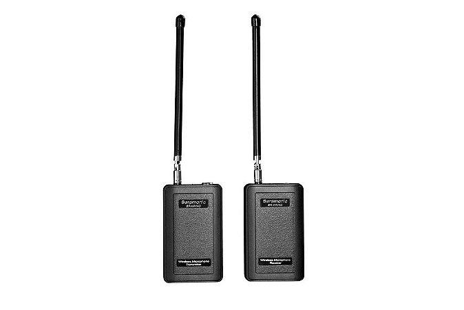 SR-WM4C - Sistema de microfone omnidirecional de 4 canais VHF sem fio
