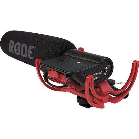 Rode Videomic com Rycote Lyre Sistema de Suspensão
