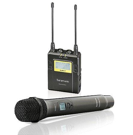 Saramonic HU9+RX9 Microfone de Mão sem Fio com Receptor
