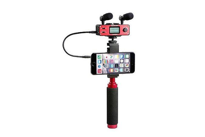 SmartMixer - Adaptador de Áudio para Smartphones iPhone, iPad, iPod, Mac e Android