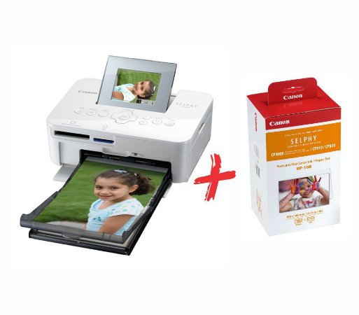 Impressora Canon Selphy CP1000 + kit Ink