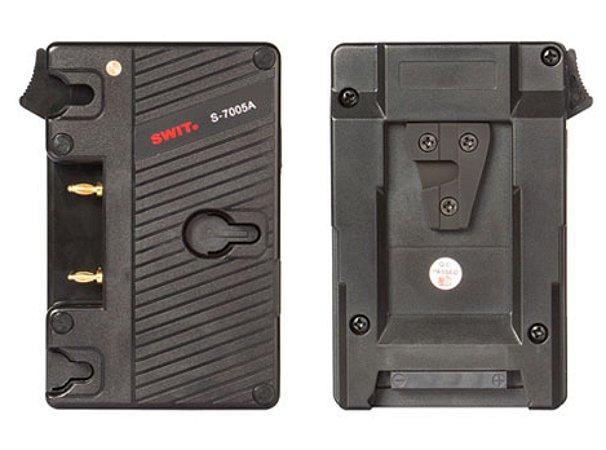 Adaptador S-7005A V-mount para Gold-mount