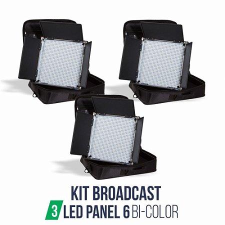 Kit Broadcast 03 Panel 6 BC + 03 Tripe ST807