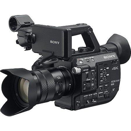 Sistema de Câmera XDCAM Super 35 Sony PXW-FS5 com Lente Zoom