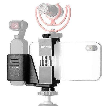 Suporte Ulanzi Osmo pocket + Smartphone OP-1