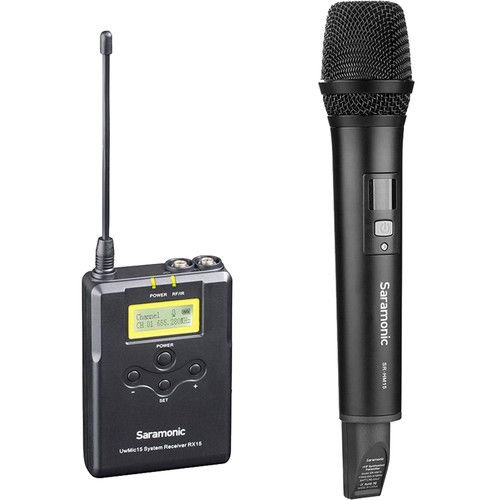 UwMic15A - Microfone sem fio