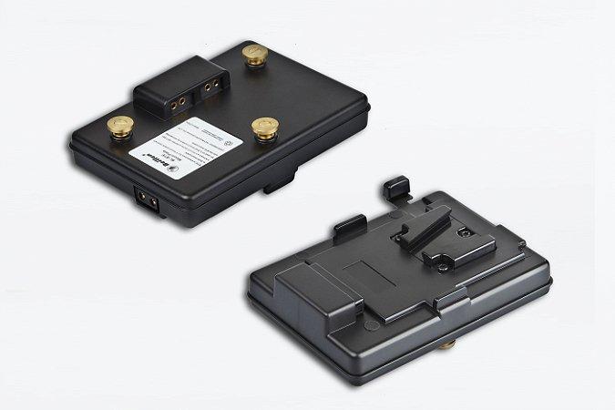 Adaptador Bateria Gold-mount para V-mount