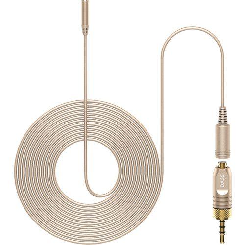 Deity Microphones W.Lav Pro DA35 Microfone de lapela omnidirecional com Microdot
