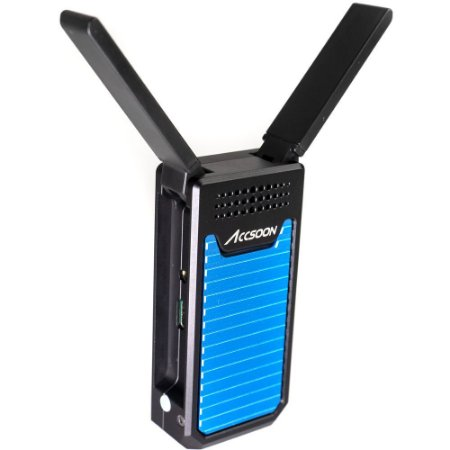 Transmissor de vídeo sem fio Accsoon CineEye Air 5 GHz para até 2 dispositivos móveis