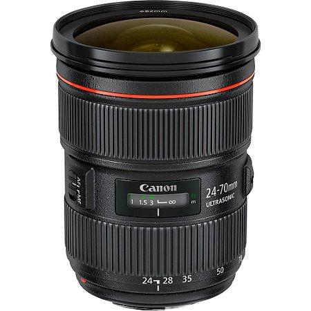 Canon lente EF 24-70mm f/2.8L II USM