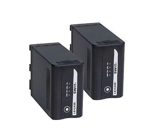 Kit SWIT de 2 baterias para Canon C300 Mark II e C200