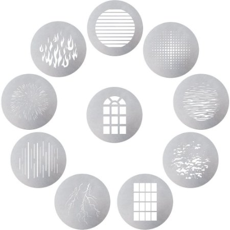 Kit de Gobo de 10 peças Aputure Spotlight