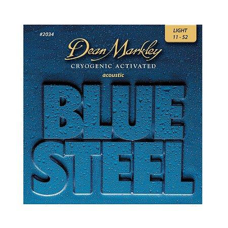 Encord.Dean Markley Blue Steel Cordas Guitar 010-060  2558A