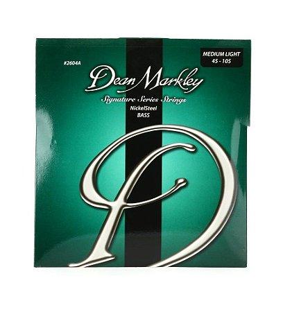 Encord.Dean Markley Contra Baixo 4 cordas 045-105 2604A