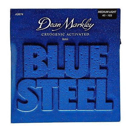 Encord.Dean Markley Blue S. Baixo 4 cordas 045-105 2674A