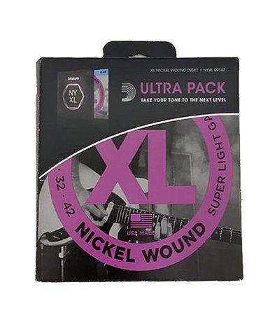 Encordoamento D'addario Violão XL Nickel EXL120+ NYXL 0942