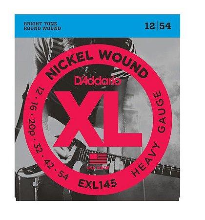Encordoamento D'addario Guitarra Níquel Wound EXL145