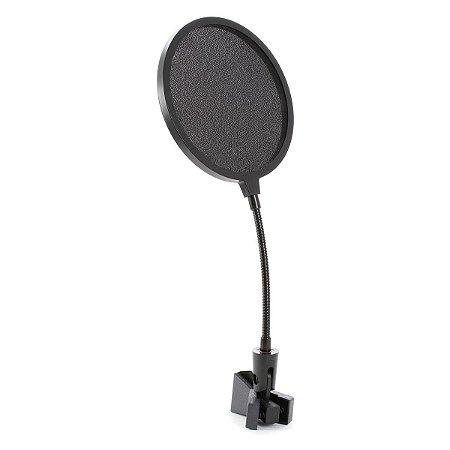 Pop Filter On Stage Para Microfone Estúdio Ajustável ASVS6B