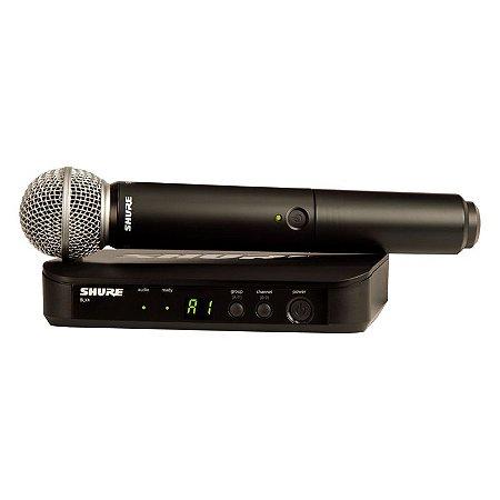 Microfone Shure S/Fio BLX24BR/BETA58-M15