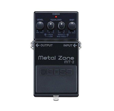 Pedal Boss Metal Zone MT2-3A Edição Limitada 30th Anniversary