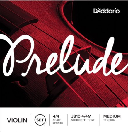 ENCORDOAMENTO DADDARIO VIOLINO 4/4 J8104/4M PRELUDE