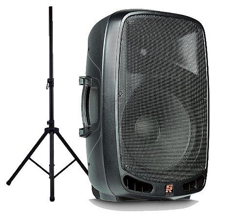 Caixa Staner Acústica PS-1501 200 Watts Com Pedestal