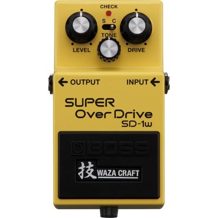 PEDAL BOSS GUITARRA SD-1W