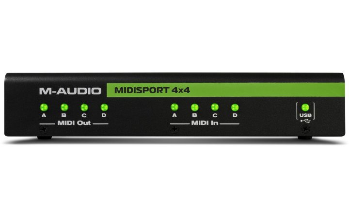 INTERFACE M-AUDIO MIDISPORT 4X4 AE USB