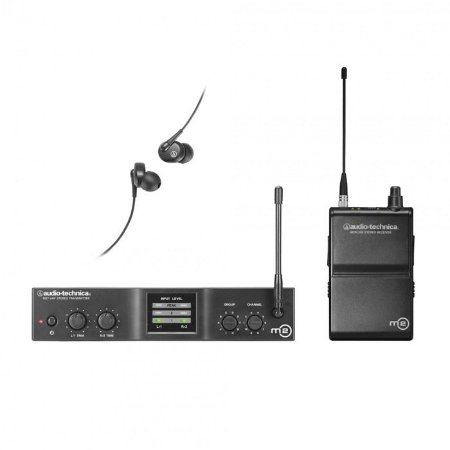 MONITOR SEM FIO AUDIO TECHNICA IN-EAR M2