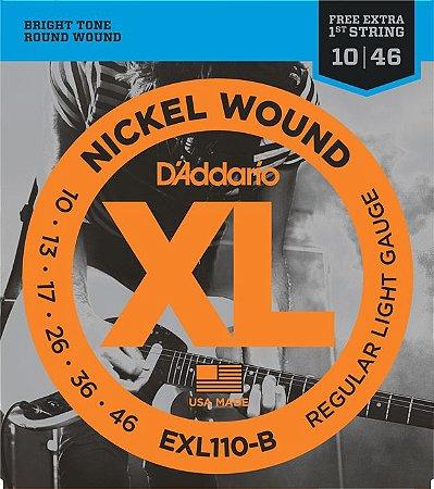 ENCORDOAMENTO DADDARIO GUITARRA EXL110-B+PL010