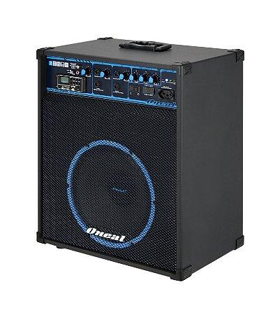 CAIXA DE SOM MULTIUSO ONEAL AMPLIFICADA 390/USB/12V/80W OCM390