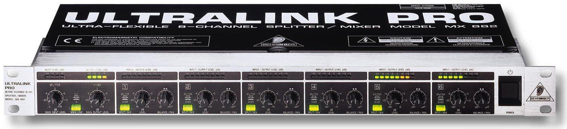 PERIF. BEHRINGER LINE MIXER ULTRALINK MX882