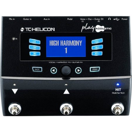 PROCESSADOR TC HELICON PLAY ACOUSTIC
