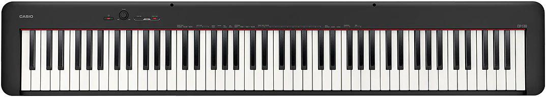 PIANO CASIO STAGE DIGITAL PRETO MODELO CDP-S100BKC2-BR
