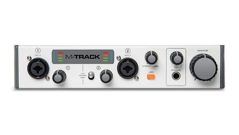 INTERFACE M-AUDIO USB 2 CANAIS M-TRACK