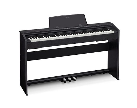 PIANO CASIO PRIVIA DIGITAL PRETO MODELO PX-770BKC2-BR