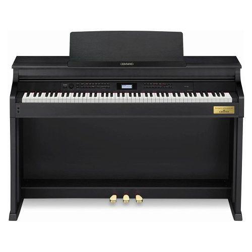 PIANO CASIO CELVIANO DIGITAL PRETO MODELO AP-700BKC2-BR