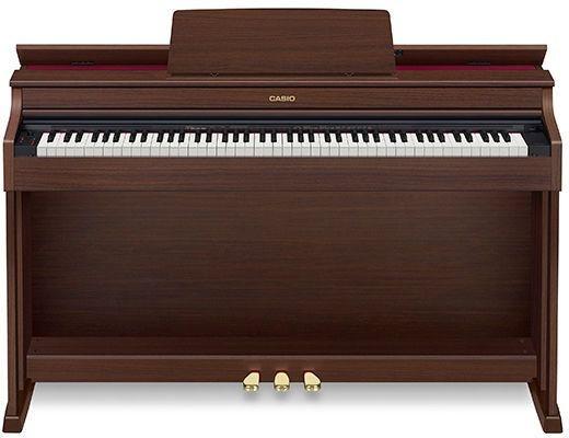 PIANO CASIO CELVIANO DIGITAL MARROM MODELO AP-470BNC2-BR