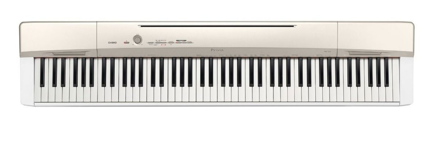 PIANO PRIVIA DIGITAL GOLD MARCA CASIO MODELO PX-160GDK2-BR