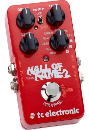 PEDAL TC HALL OF FAME REVERB 2 Nr Serie: 22398852 / 22399199 /