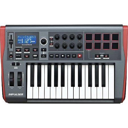 CONTROLADOR MIDI IMPULSE 25 Nr Serie: BB9830323301 / BB9819322304 /