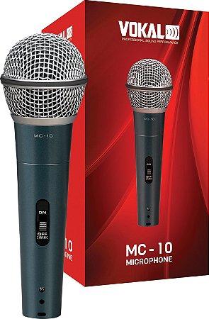 MICROFONE VOKAL MC10 COM FIO