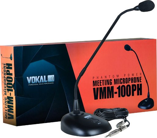 MICROFONE VOKAL VMM100PH MESA PHANTON POWER