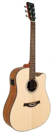 VIOLAO TAGIMA ELETRO ACUSTICO WALNUT TWO FOLK (NA (Natural))