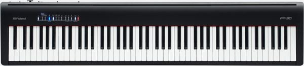 PIANO ROLAND DIGITAL FP-30 BK