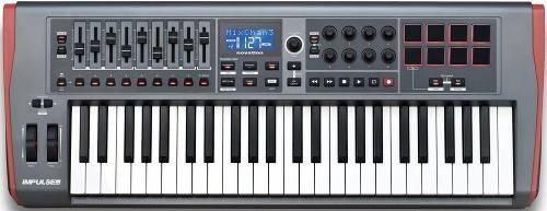 TECLADO NOVATION IMPULSE49 CONTROLADOR MIDI 49