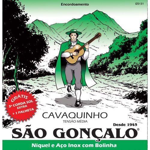 ENCORDOAMENTO  SAO GONCALO CAVACO NIQUEL C/BOLINHA